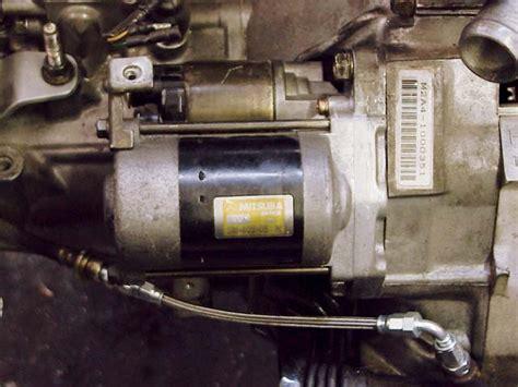 starter on a honda civic honda civic starter motor easy passionford ford