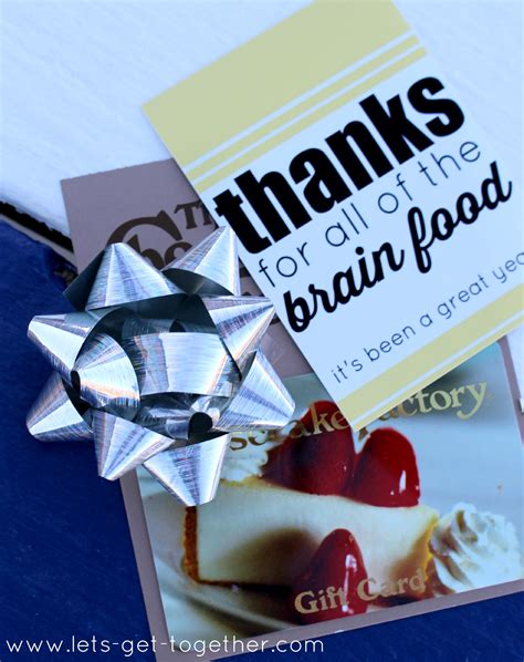 Restaurant Gift Cards By Email - 10 gifts teachers want