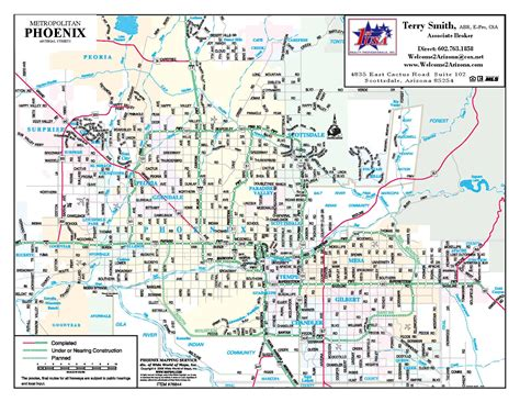 printable phoenix area map phoenix map pdf afputra com