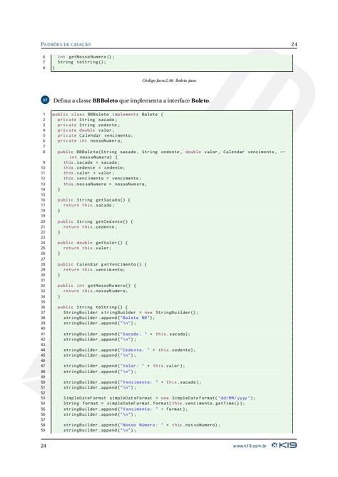 simpledateformat pattern k19 k51 design patterns em java