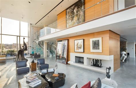 Lacquer Kitchen Cabinets carmelo and lala anthony step up penthouse search and tour