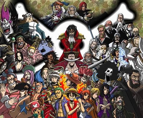 all in one piece one piece characters one piece photo 32443821 fanpop