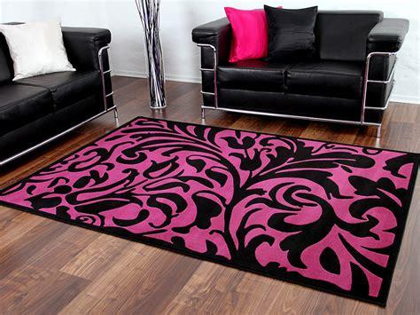 teppich lila designer teppich schwarz lila barock teppiche