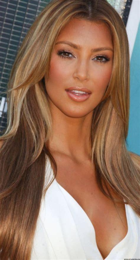 kim kardashian hair color highlights pinterest the world s catalog of ideas