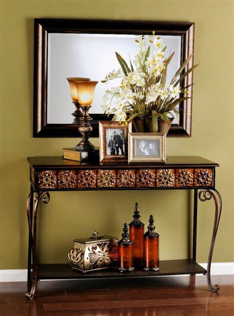upstairs hallway table with mirrors and plants big best 25 entry mirror ideas on pinterest entrance table