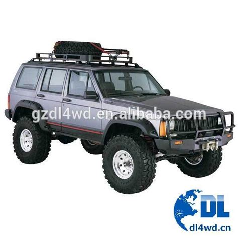 Jeep Parts Cheap Wholesale China 4x4 Fender Flare For Jeep Xj