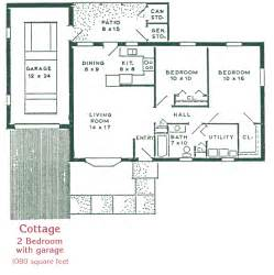 2 bedroom 2 bath cottage plans cottage homes st anne