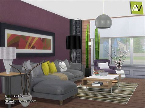 117 Best Furnitures Living Room Sims4 Images On Sims 2 Living Room Sets