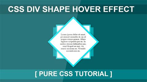 div hover css div hover effect tutorial html5 css3 hover effect