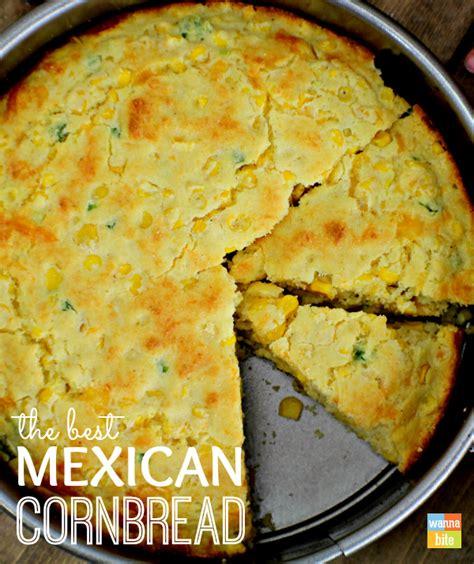 mexican cornbread recipe wanna bite