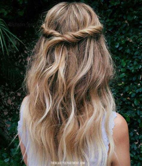 31 amazing half up half hairstyles for hair the goddess