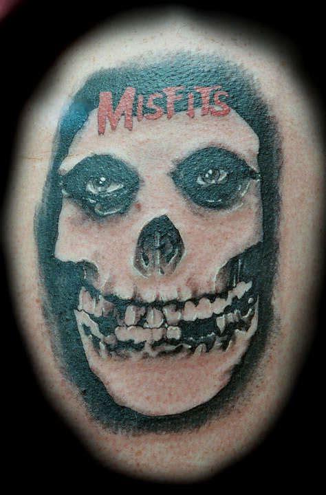 misfits tattoo misfits