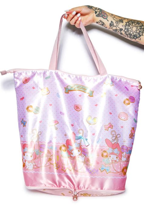 Tote Bag Melody sanrio my melody tote bag dolls kill