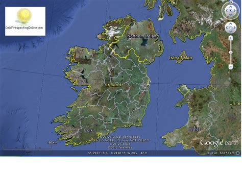 Finding Gold Ireland Gold Prospecting Equipment Tips Gold Maps