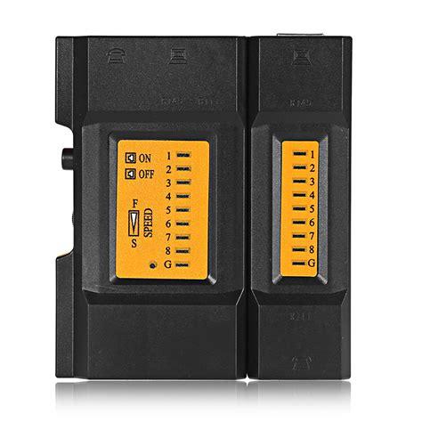 Cable Tester Utp Rj45 Rj11 dropship network cable tester rj45 rj11 cat5 utp lan