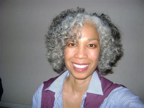 gray hard to manage natural hair african american grey hairstyles gray natural and