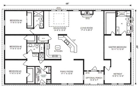 simple ranch house plans ranch house floor plans 4 bedroom love this simple no
