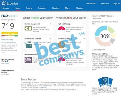 experian credit bureau experian credit tracker review