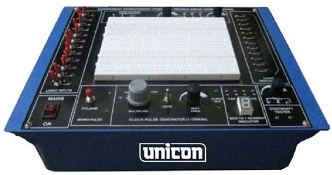 breadboard circuit design trainer products buy digital breadboard trainer from unicon instruments chandigarh india id 1707915