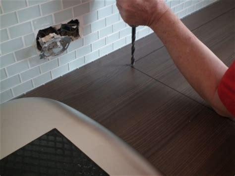 arbeitsplatte schneiden k 252 chenarbeitsplatte zuschneiden und einbauen die