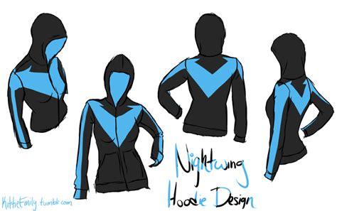 Hoodie Sweater Nightwing 1 nightwing hoodie design by chibi aeri chan on deviantart