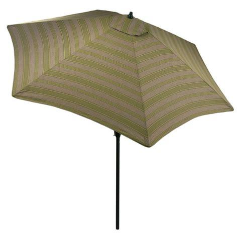 Hton Bay 9 Ft Aluminum Market Patio Umbrella In Luxe Hton Bay 9 Ft Aluminum Patio Umbrella In Sky Blue With