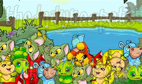 pet pet petpet park the daily neopets