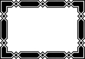 cool frame designs clipart geometric frame or border