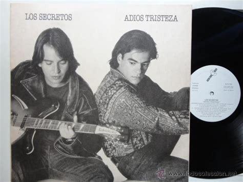 adis tristeza 18 los secretos adios tristeza lp 1991 insert comprar discos lp vinilos de m 250 sica de grupos
