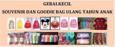 Souvenir Meal Bag Plustas Anak 7 ulang tahun anak souvenir