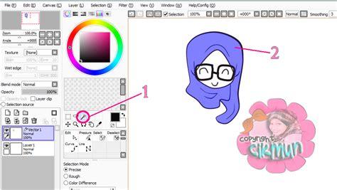 tutorial lukis doodle guna paint tool sai cik mun tutorial mewarna guna paint sai tool