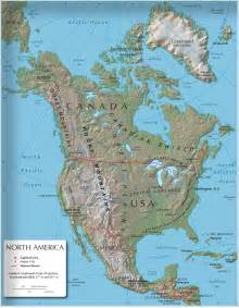 america physical map america physical map