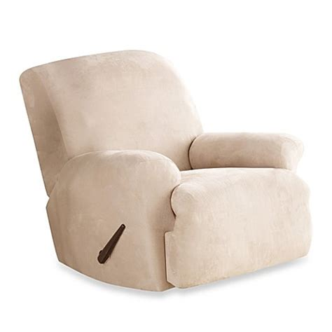 sure fit slipcovers for recliners buy slipcovers recliners from bed bath beyond