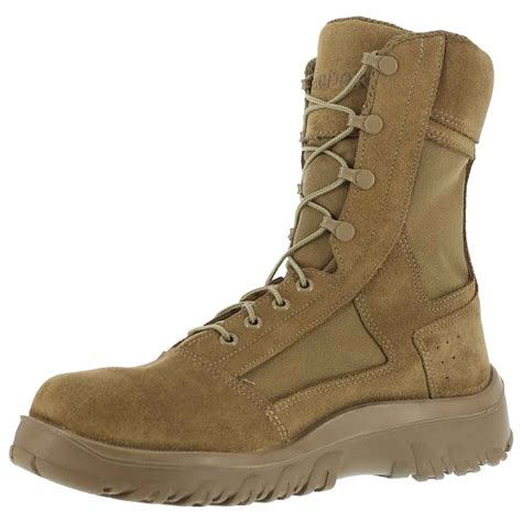 coyote brown boots reebok krios 8 inch coyote brown boot cm8803