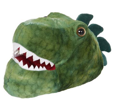 dinosaur slippers for 3d novelty dinosaur slippers fleece booties dino