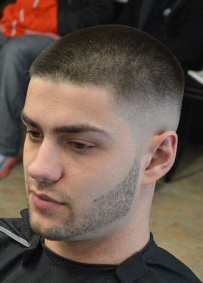 Buzz Cut Hairstyle by 27 S Buzz Cut Fade Styles Hairstyles Haircuts For