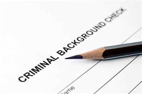 Criminal Record Check Record Expungement Cleaning Up Your Criminal Record
