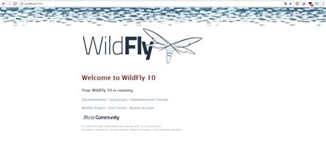 jboss admin console java wildfly cannot access to admin console 404 error