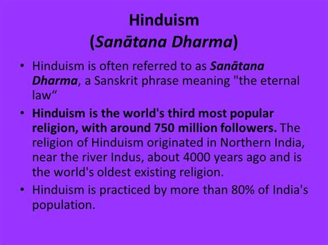 fundamental laws of the world for ensuring eternal books hinduism san艨tana dharma ppt