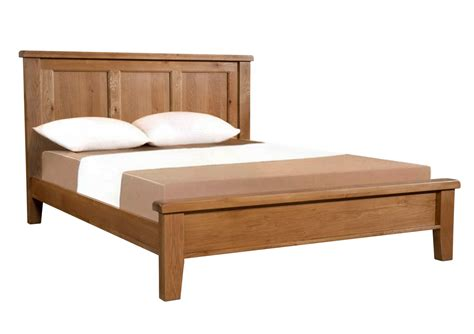 Oak Wooden Bed Frames Somerset Oak Wooden Bed Frame Light Wood Wooden Beds Beds