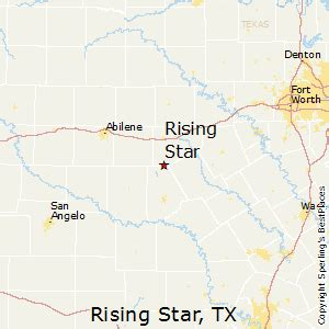 rising texas map best places to live in rising texas