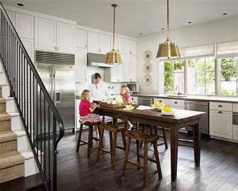 kitchen island with table seating kitchen kitchen island with storage and seating island