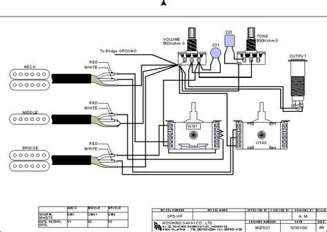 ibanez  series wiring diagram  instrument