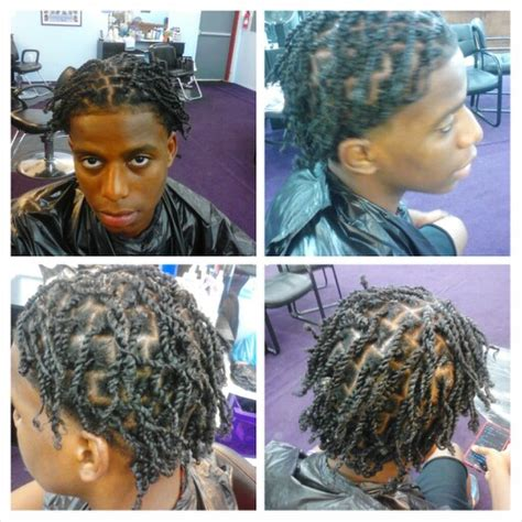 2 strand hair braid afro for men mens two strand twists done by me evonuniique natural