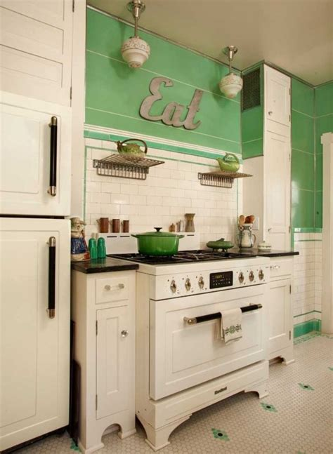 retro kitchen ideas 32 fabulous vintage kitchen designs to die for digsdigs