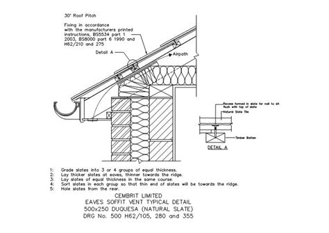 slate roof section steelselect dwg eaves detail google search structural