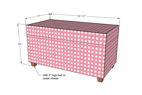 Diy Storage Ottoman Plans Upholstered Ottoman Plans Asla