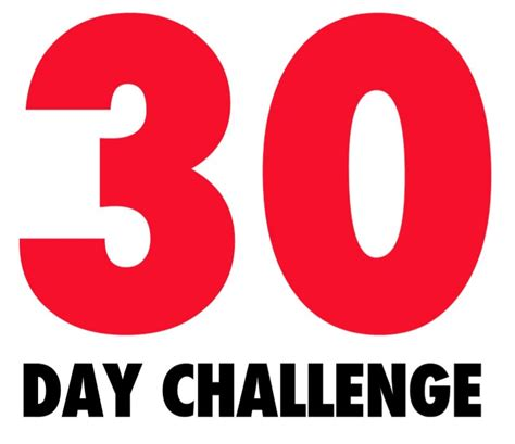 30 day positivity challenge 30 day positivity challenge lonnie smalley s