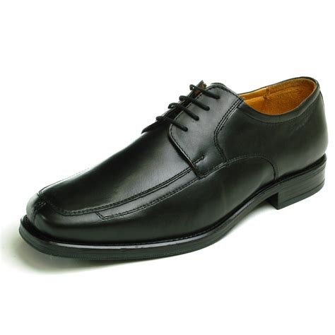dress shoes oxfords mens lace up oxfords dress shoes genuine leather moc toe