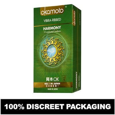 Okamoto Harmony 10s qoo10 okamoto harmony vibra ribbed 10s diet
